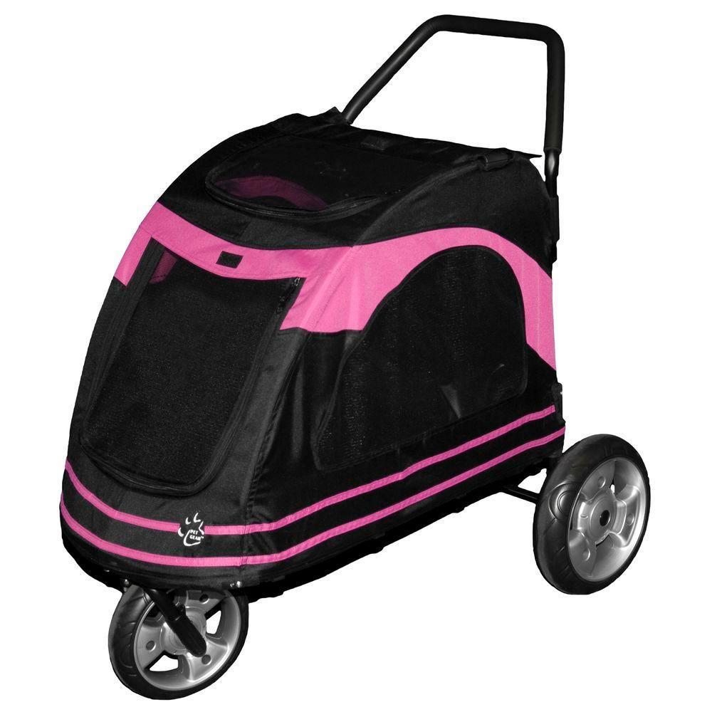 Pet Gear 33 in. x 20 in. x 21 in. Roadster Pet Stroller