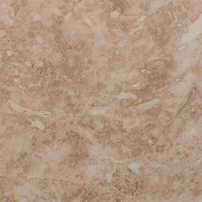 Crema Cappuccino 12 in. x 12 in. Honed Marble Floor and Wall Tile (10 sq. ft. / case)