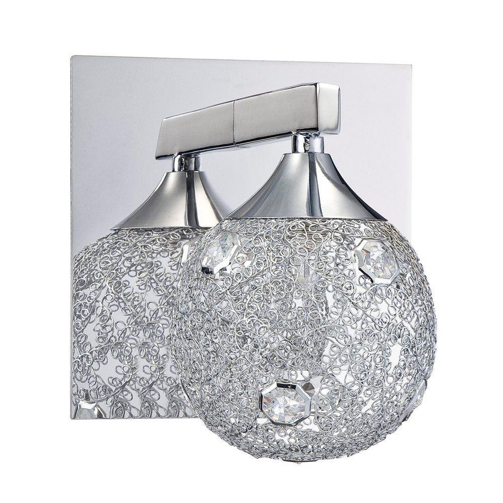 Filament Design Ida Chrome Bath Vanity Light