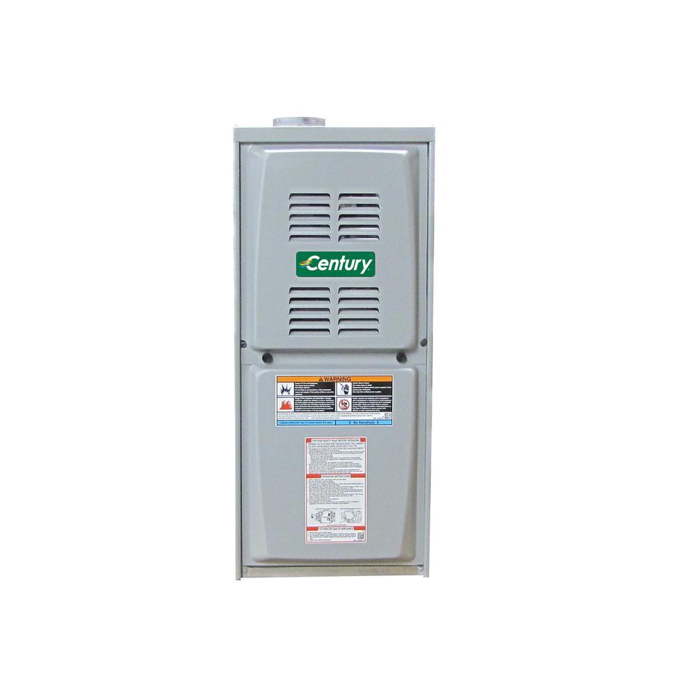 GUH Series 80% 110000 BTU Input and 89000 BTU Output Natural Gas Hot Air Furnace