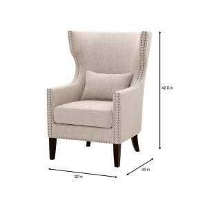 Fine Home Decorators Collection Bentley Birch Neutral Upholstered Beatyapartments Chair Design Images Beatyapartmentscom