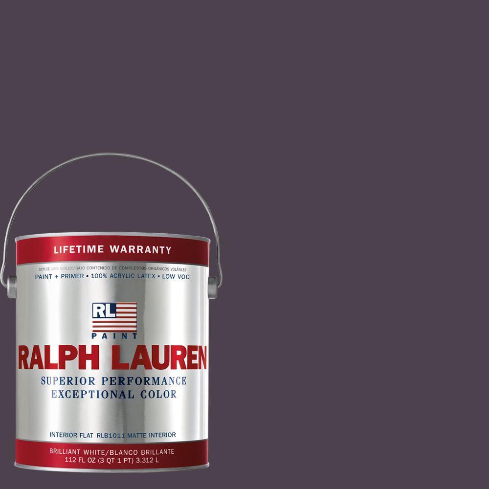 Ralph Lauren 1-gal. Gothic Violet Flat Interior Paint