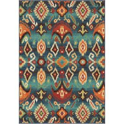 Eastern Tradition Multi Southwestern 5 ft. x 8 ft. Indoor Area Rug