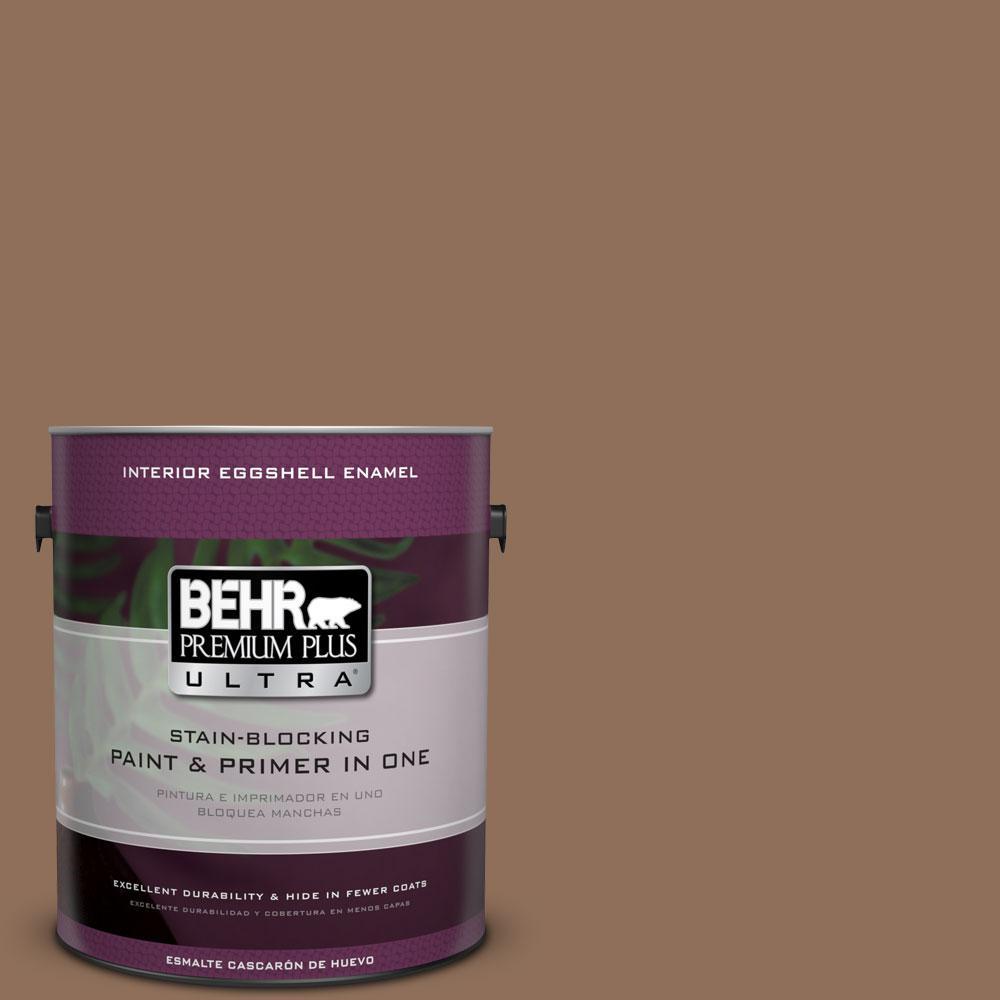 BEHR Premium Plus Ultra 1-gal. #250F-6 Pepper Spice Eggshell Enamel Interior Paint