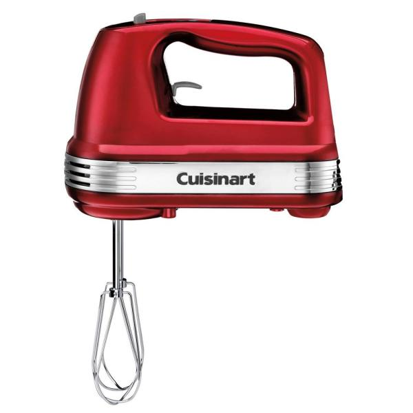 Cuisinart Power Advantage 7-Speed Hand Mixer Metallic Red HM-70MR