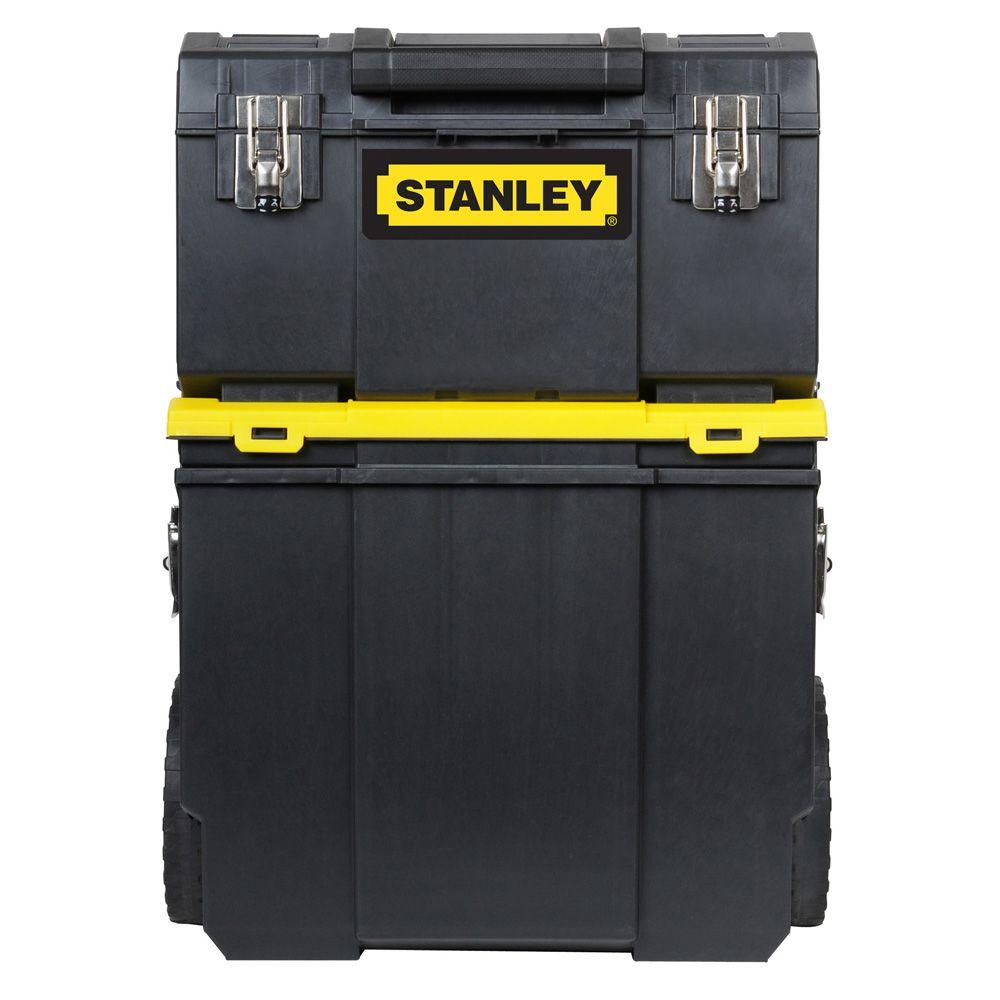 Stanley 11 in. 3-in-1 Detachable Tool Box Mobile Work Center