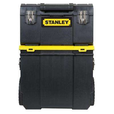 11 in. 3-in-1 Detachable Tool Box Mobile Work Center