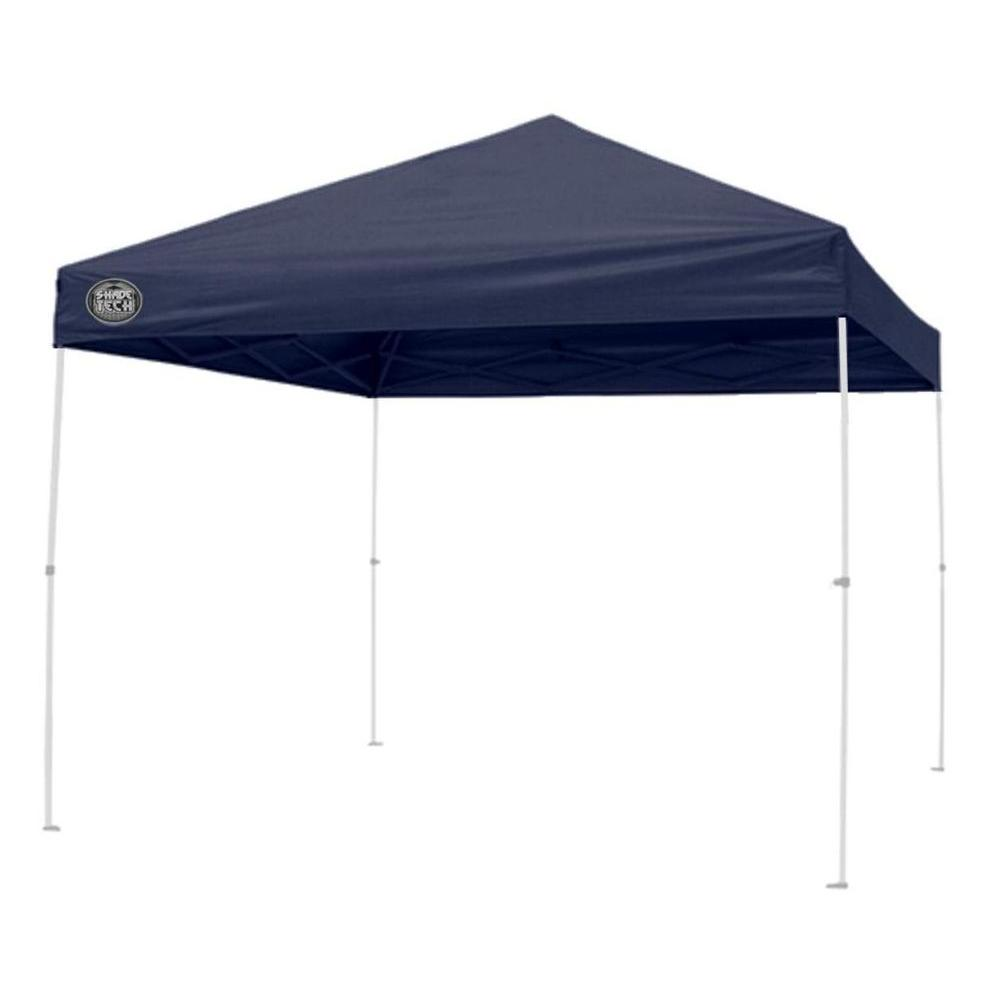 Straight Leg Instant Patio Canopy In Dark Blue