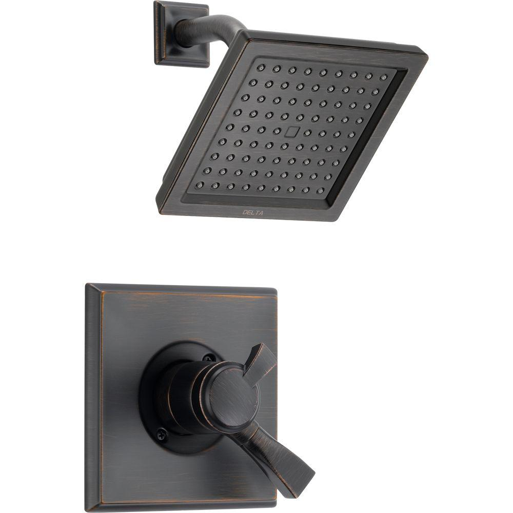 Exceptional Delta Dryden 1 Handle Shower Only Faucet Trim Kit In Venetian Bronze (Valve  Not