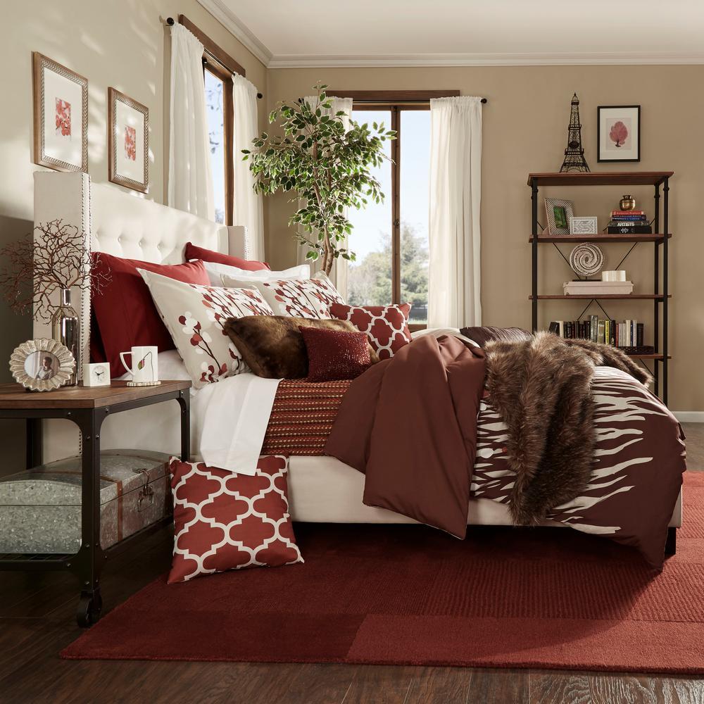 Franklin Park Cream White Full Upholstered Bed