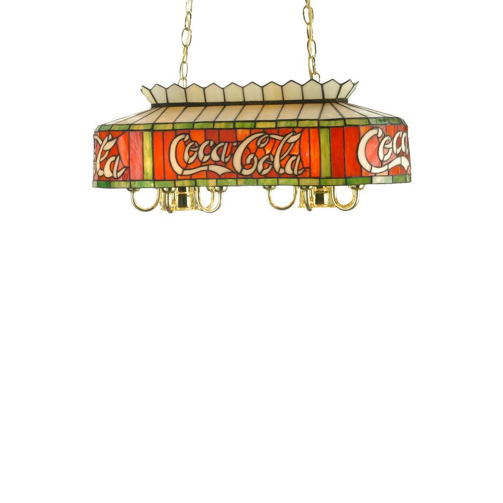 Illumine 5 Light Coca-Cola Oblong Pendant
