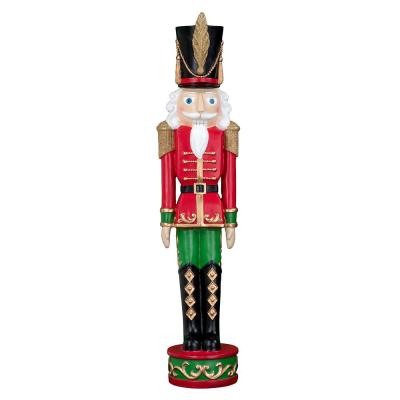 37 in. Red and Green Christmas Nutcracker