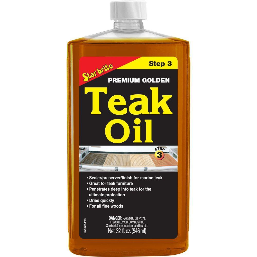 32 oz. Premium Teak Oil