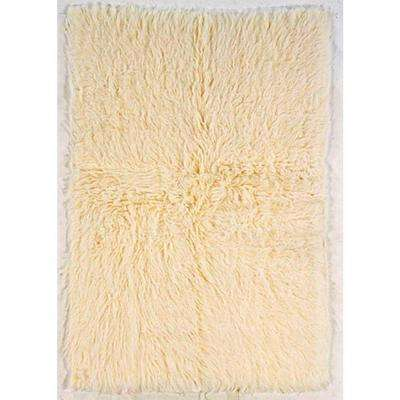 5A Flokati Natural 4 ft. x 6 ft. Area Rug