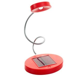 15.5 inch Red LED Desk Lamp by