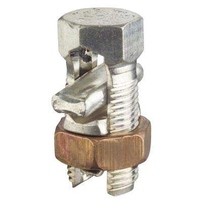 Dual Rated Split Bolt Wire Connector 1/0 Stranded to #6 Solid