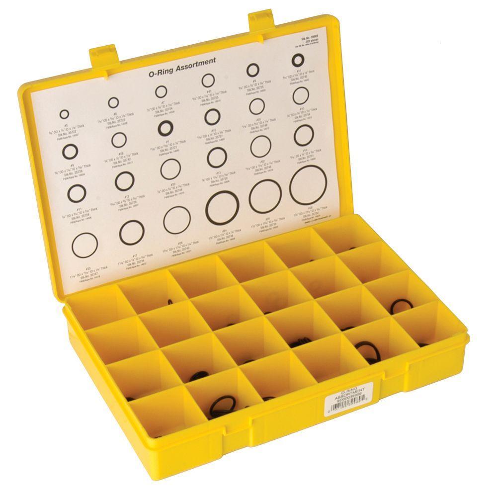DANCO O-Ring Assortment Kit (382-Piece)-39989 - The Home Depot