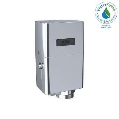 EcoPower Touchless Urinal 1.0 GPF Toilet Flushometer Valve Only in Polished Chrome