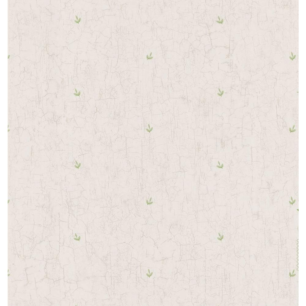 Brewster 56 sq. ft. Leaf Toss Wallpaper-DISCONTINUED
