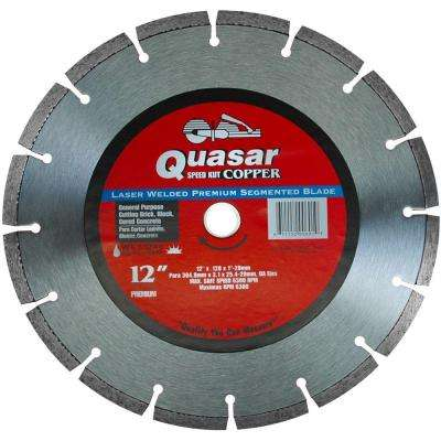 Speed Kut Copper 12 in. Laser Welded Premium Segmented Diamond Blade