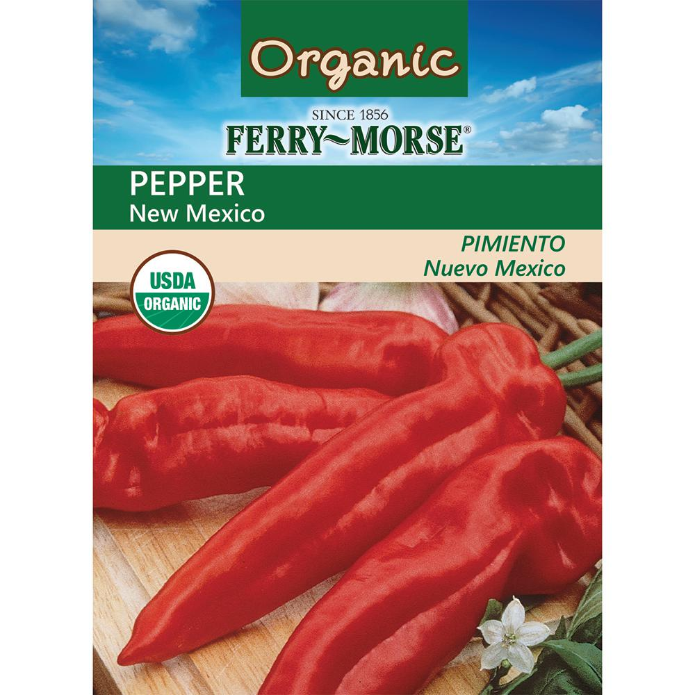 Pepper New Mexico Joe E Parker Organic Seed