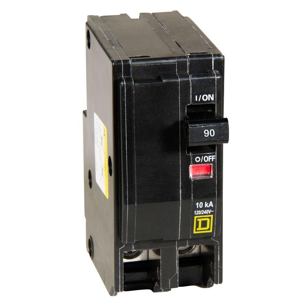 Square D QO 90 Amp 2-Pole Circuit Breaker