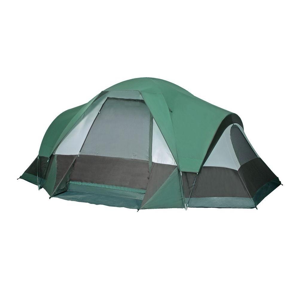 GigaTent White Cap Mountain 10-Person Cabin Tent  sc 1 st  The Home Depot & GigaTent White Cap Mountain 10-Person Cabin Tent-FT016 - The Home ...