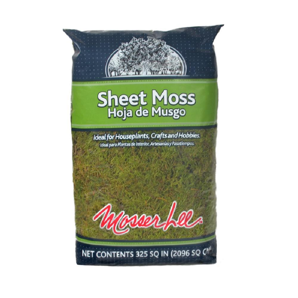 Mosser Lee 325 sq. in. Sheet Moss Soil Cover