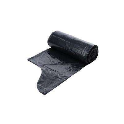 33 Gal. Black Low Density EZ Tie Closure Trash Bag (100-Count)