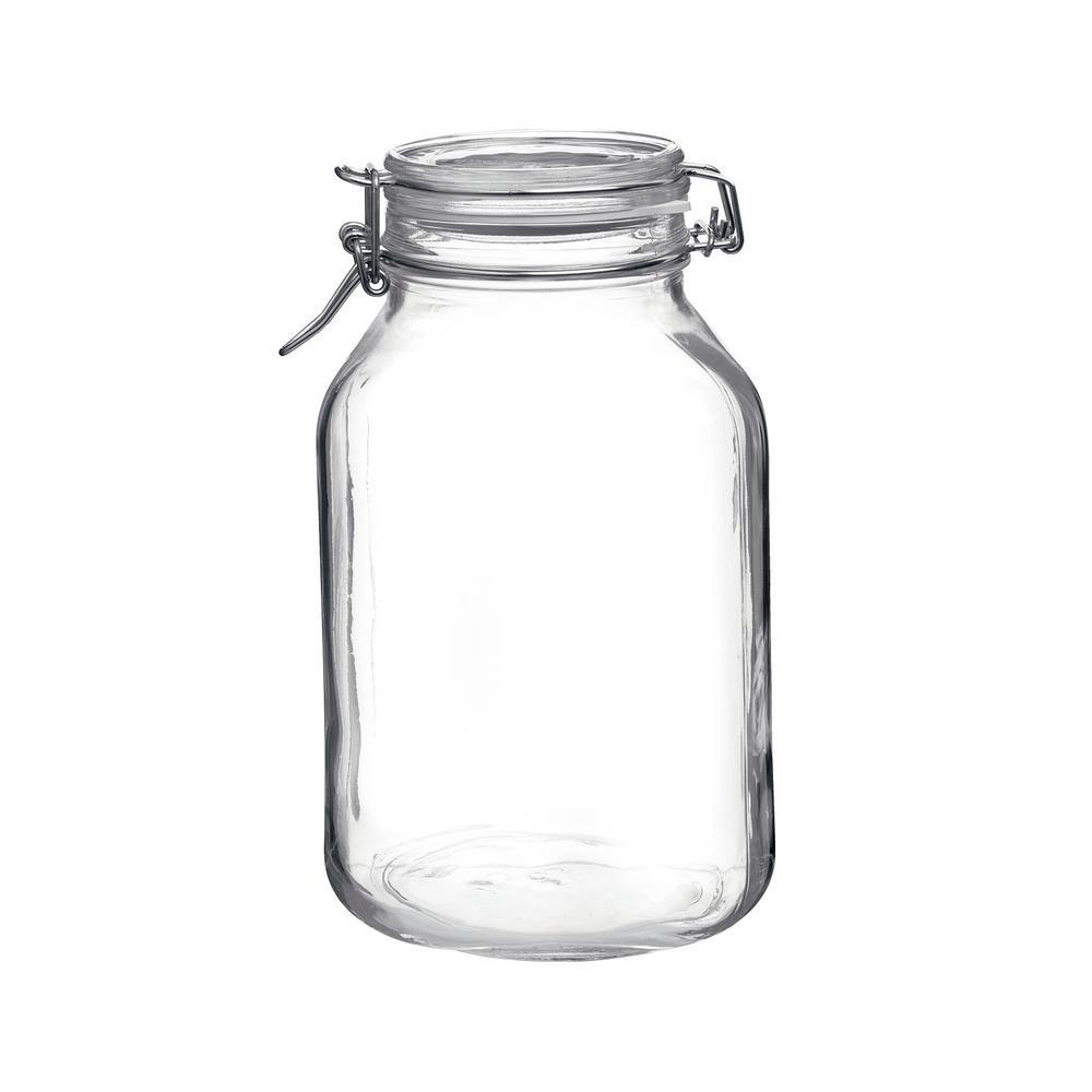 101.5 oz. Fido Glass Storage Jar (6-Pack)
