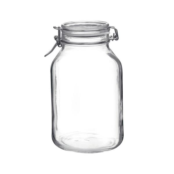 Bormioli Rocco 101.5 oz. Fido Glass Storage Jar (6-Pack) BORM-149250M02321991