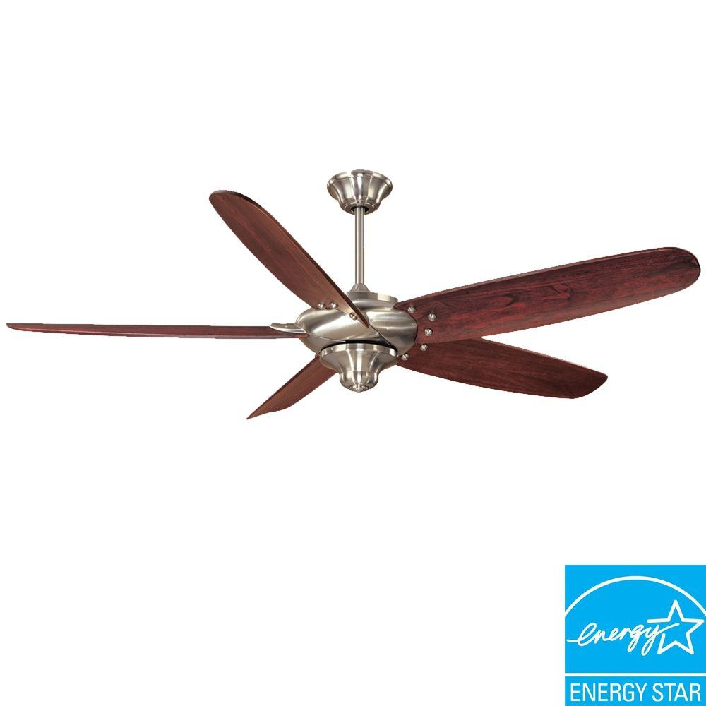 Home Decorators Collection Altura 68 in. Brushed Nickel Ceiling Fan