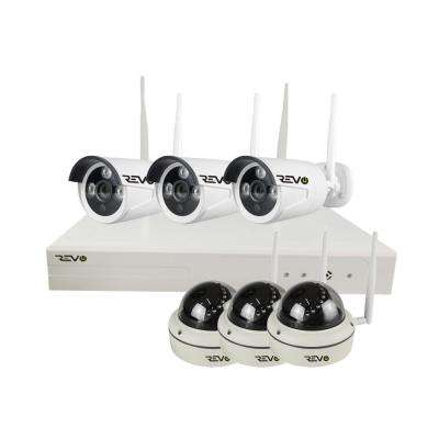 Wireless HD 8-Channel 1TB Smart NVR Surveillance System with 6 Full-HD 1080p Wireless Cameras