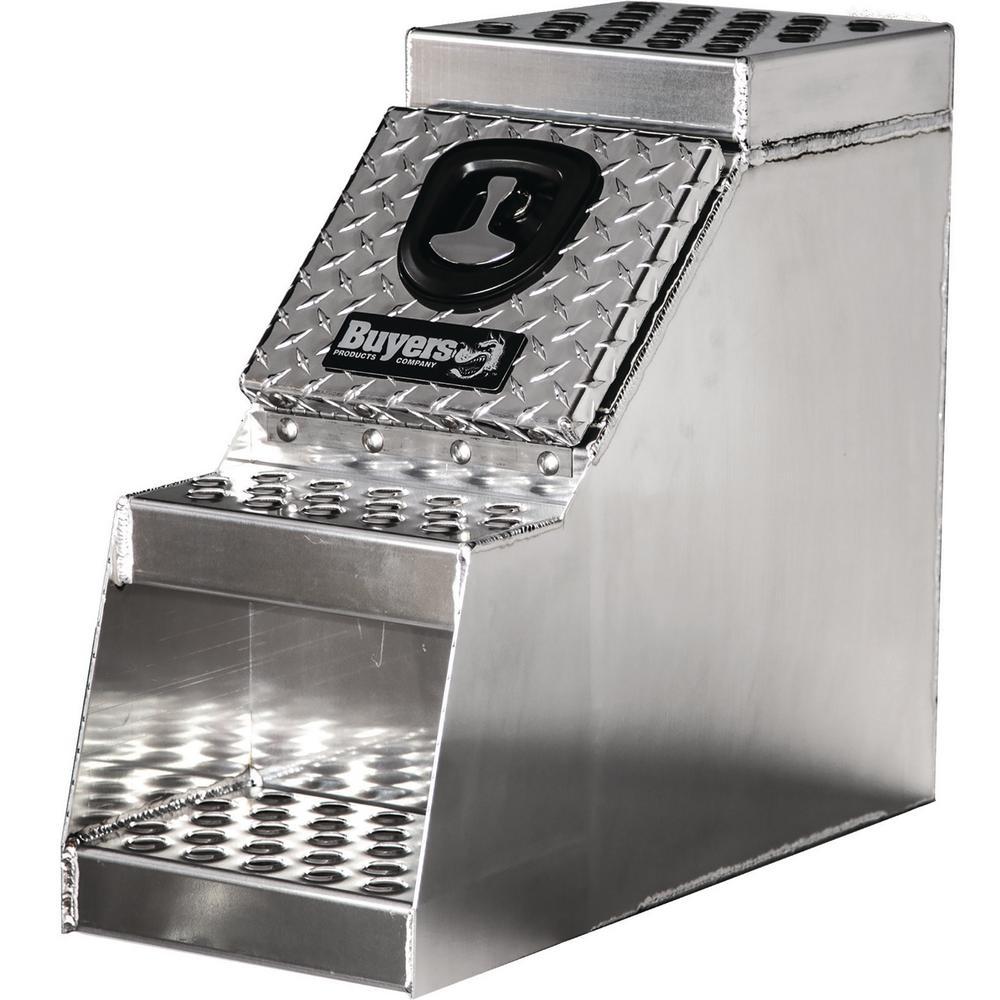 18 in. Heavy Duty Aluminum Step Box