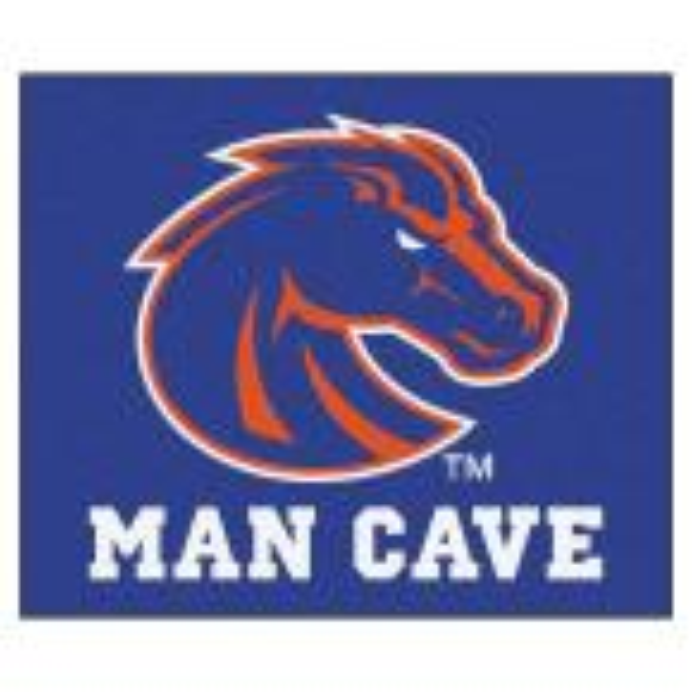 Boise State University Blue Man Cave 5 ft. x 6 ft. Area Rug