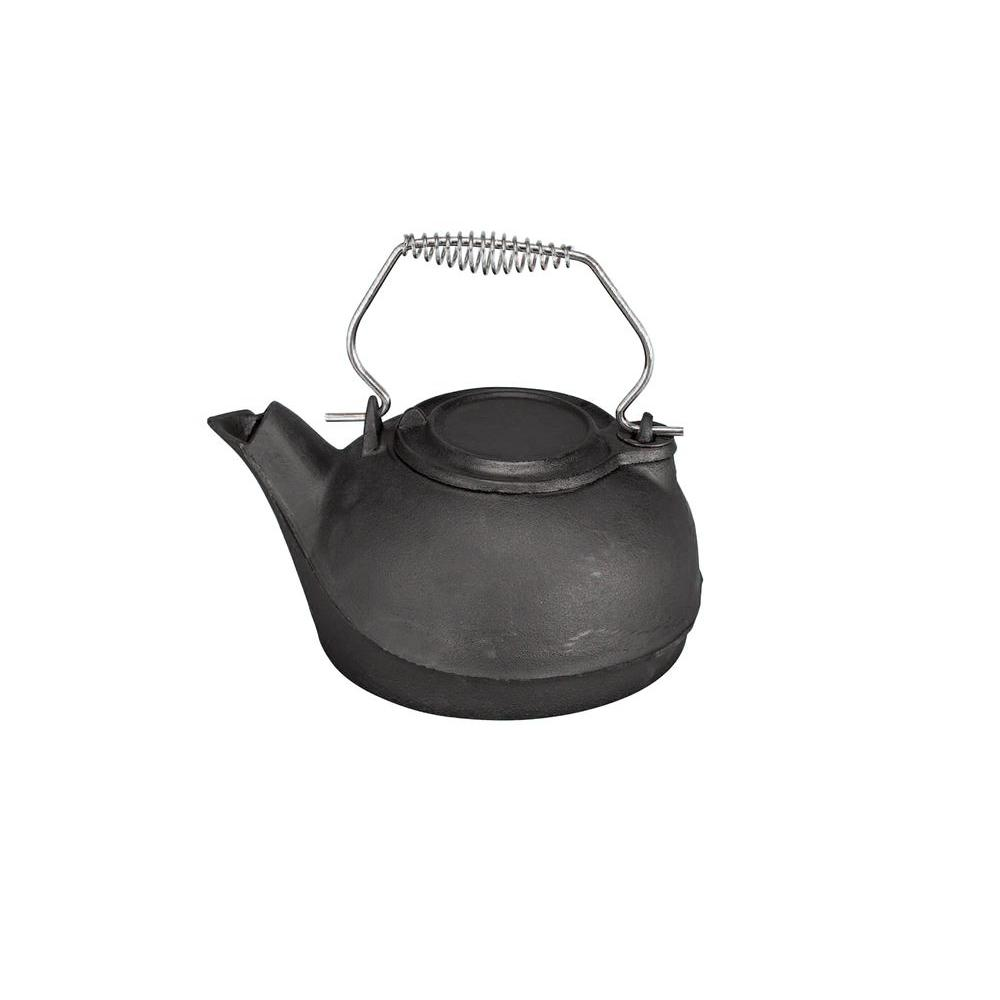 Impress your friends and family by serving the tea by choosing this durability Pleasant Hearth Kettle Steamer. Cast iron construction.