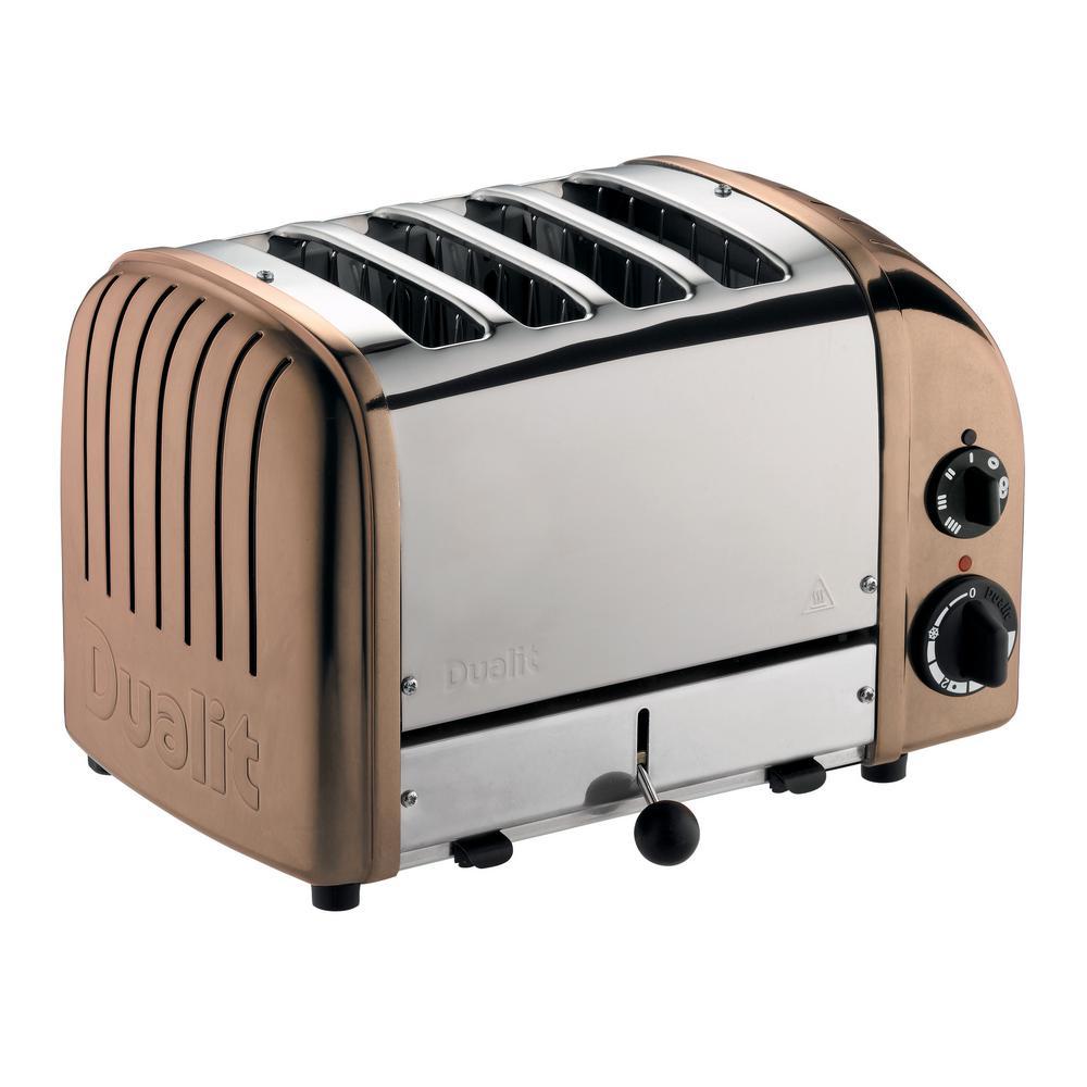 New Gen 4-Slice Copper Toaster