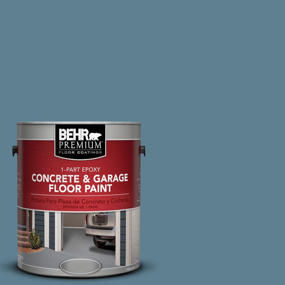 Blueprint satin exterior paint paint the home depot s470 5 blueprint 1 part epoxy concrete and garage floor malvernweather Images