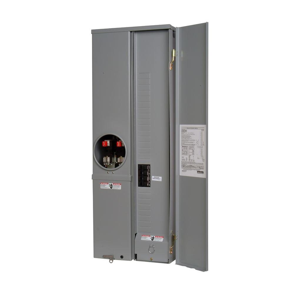 200-Amp 24-Space 42-Circuit Overhead or Underground EUSER Combination Load  Center