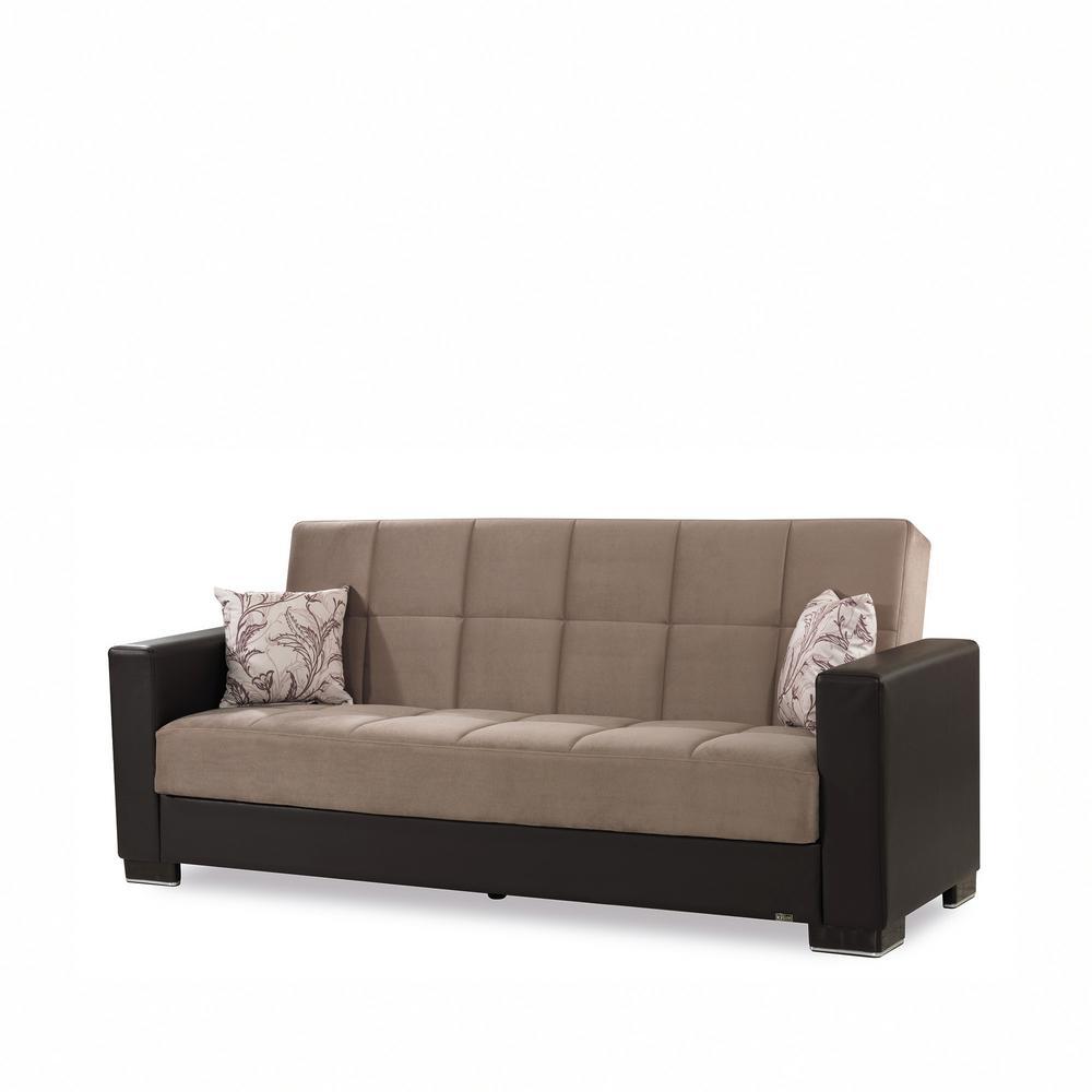 Modern - Microfiber - Sofas & Loveseats - Living Room Furniture ...
