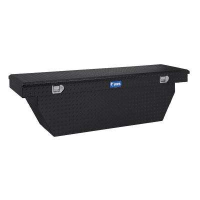69 in. Aluminum Black Single Lid Crossover Toolbox T-100