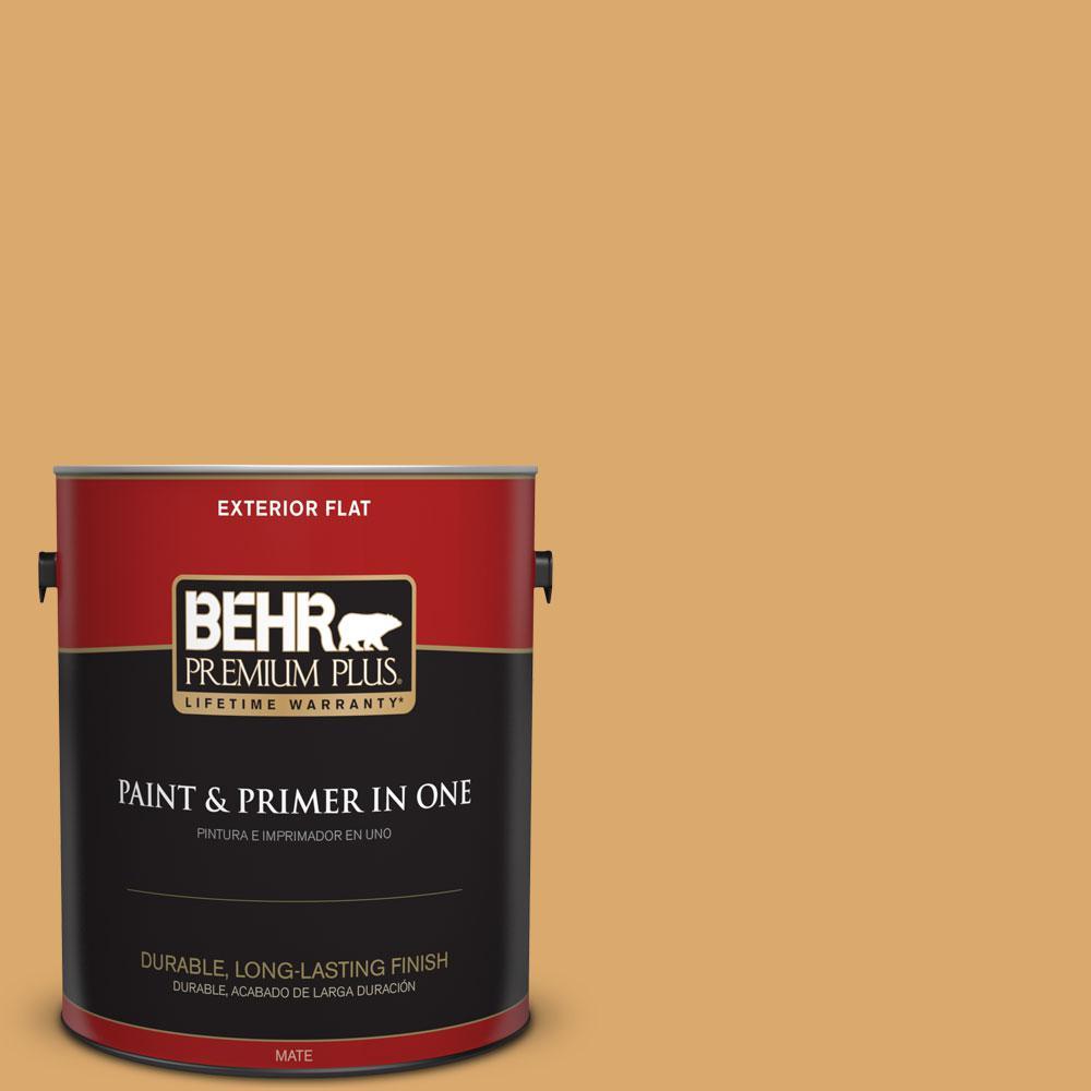 BEHR Premium Plus Home Decorators Collection 1-gal. #HDC-FL13-2 Corn Maze Flat Exterior Paint