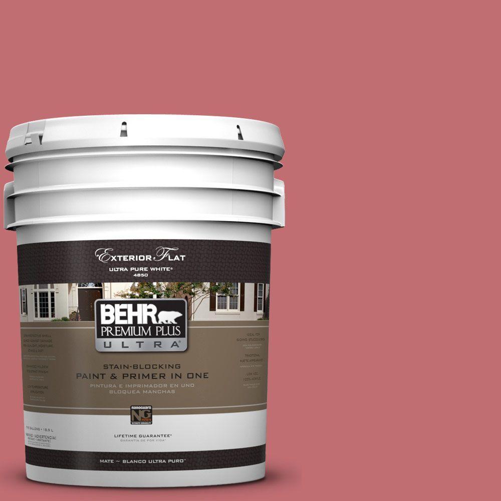 BEHR Premium Plus Ultra 5-gal. #HDC-SP14-8 Art House Pink Flat ...