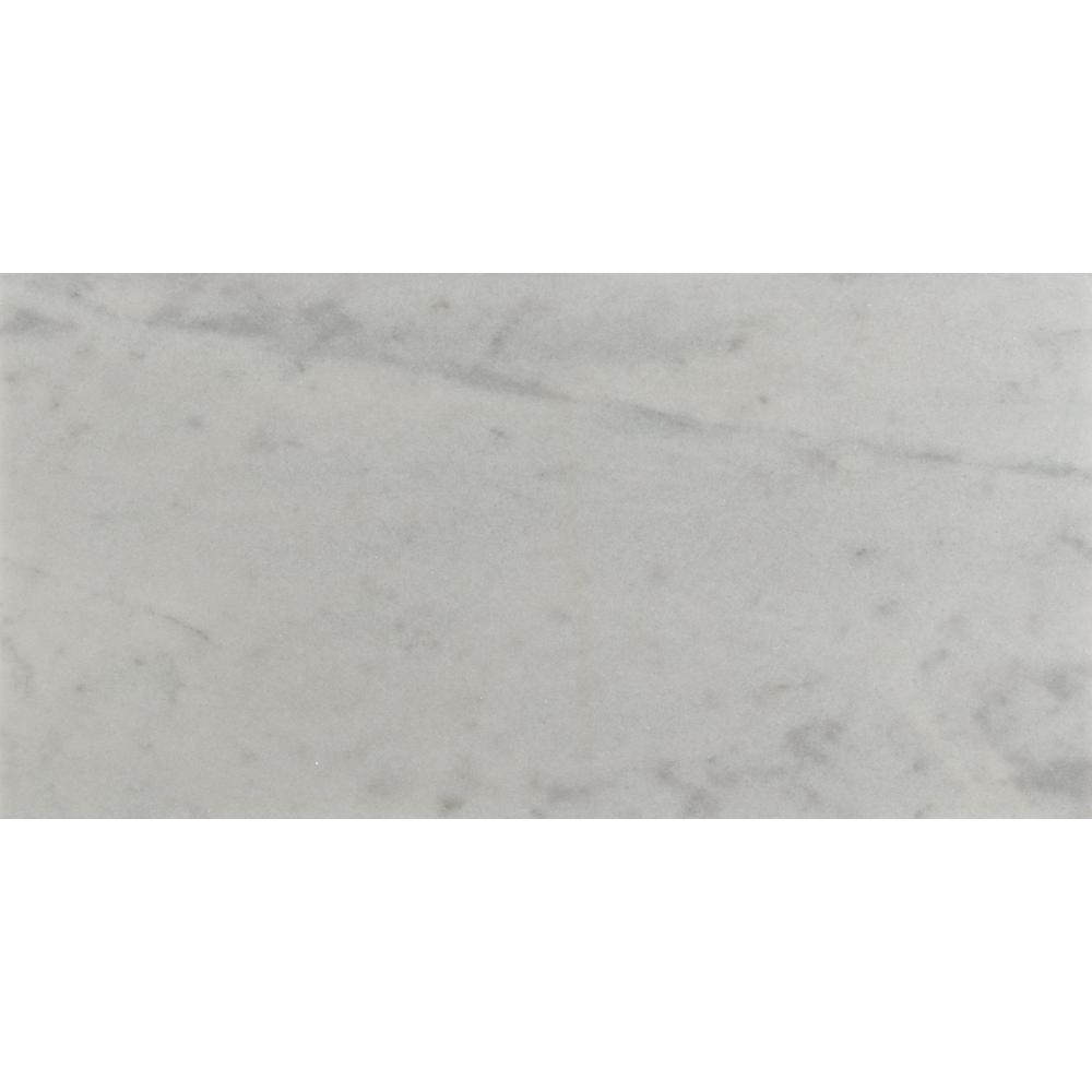 MSI Greecian White 12 in. x 24 in. Polished Marble Floor and Wall Tile (10 sq. ft. / case)