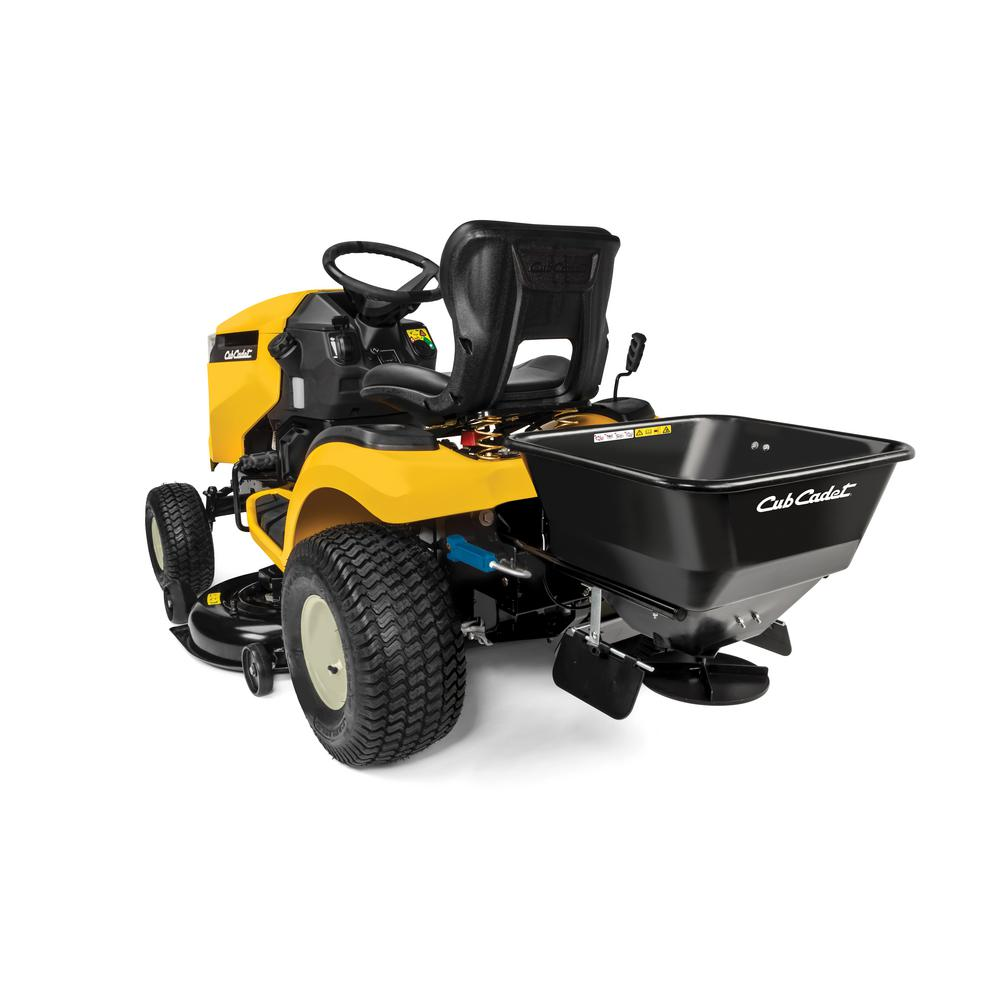 CUB CADET FastAttach 100 lb. Capacity Electric Spreader for Cub Cadet XT1 and XT2 Lawn Mowers (2015 and After)