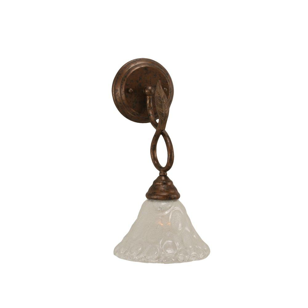 Concord 1-Light Bronze Incandescent Wall Sconce