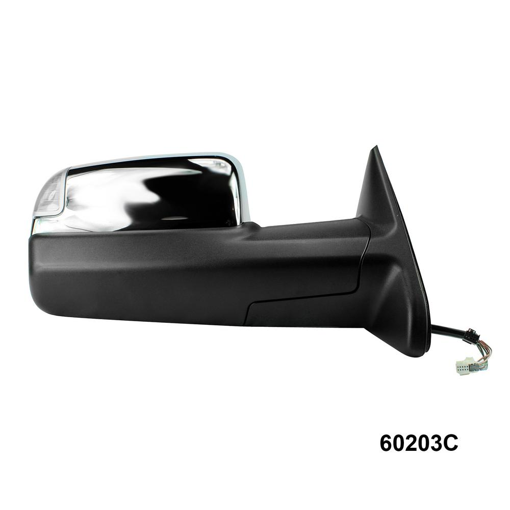 Fit System Towing Mirror For 13 17 Dodge Ram 1500 2500 12