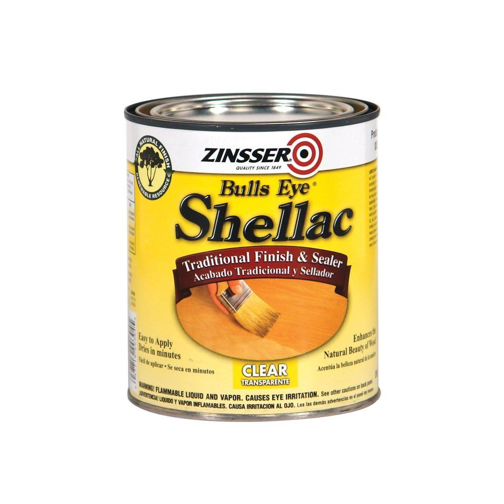 Zinsser 1-qt. Clear Shellac Traditional Finish and Sealer (Case of 4)