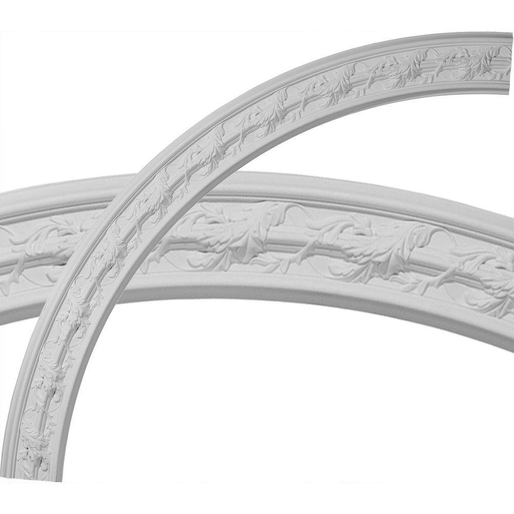 Ekena Millwork 66-3/4 in. Southampton Acanthus Leaf Ceiling Ring