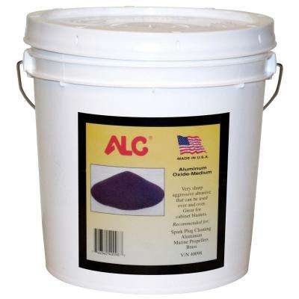 25 lbs. Aluminum Oxide Blasting Abrasive